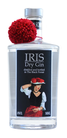 Iris Black Forest Dry Gin | 0,5L