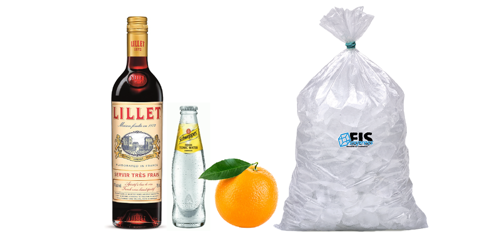 Lillet Rouge Tonic | Lillet Rouge | Aperitif-Box | 15 Drinks