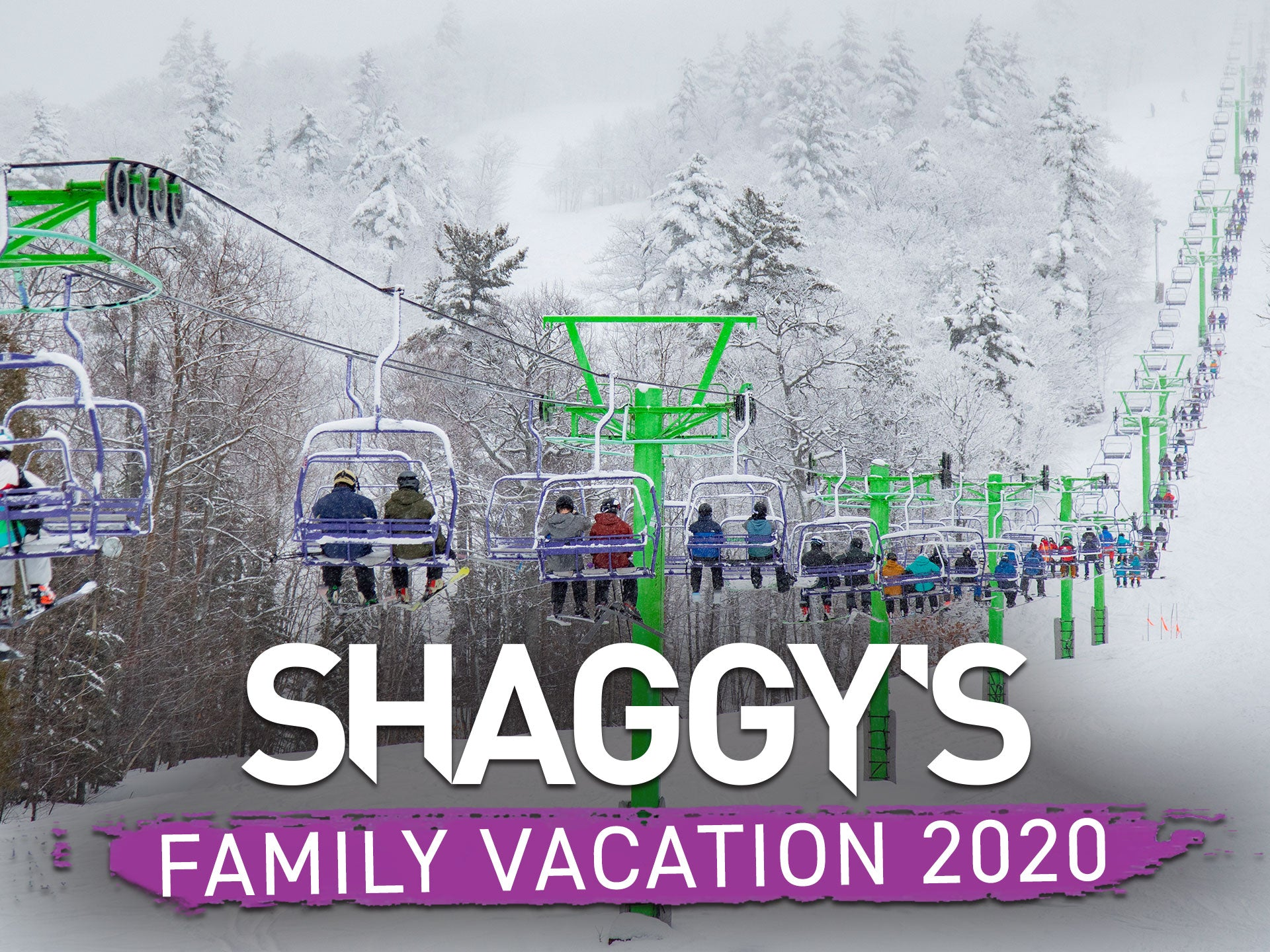 Shaggy's Family Vacation at Mount Bohemia - Extreme skiing in Michigan