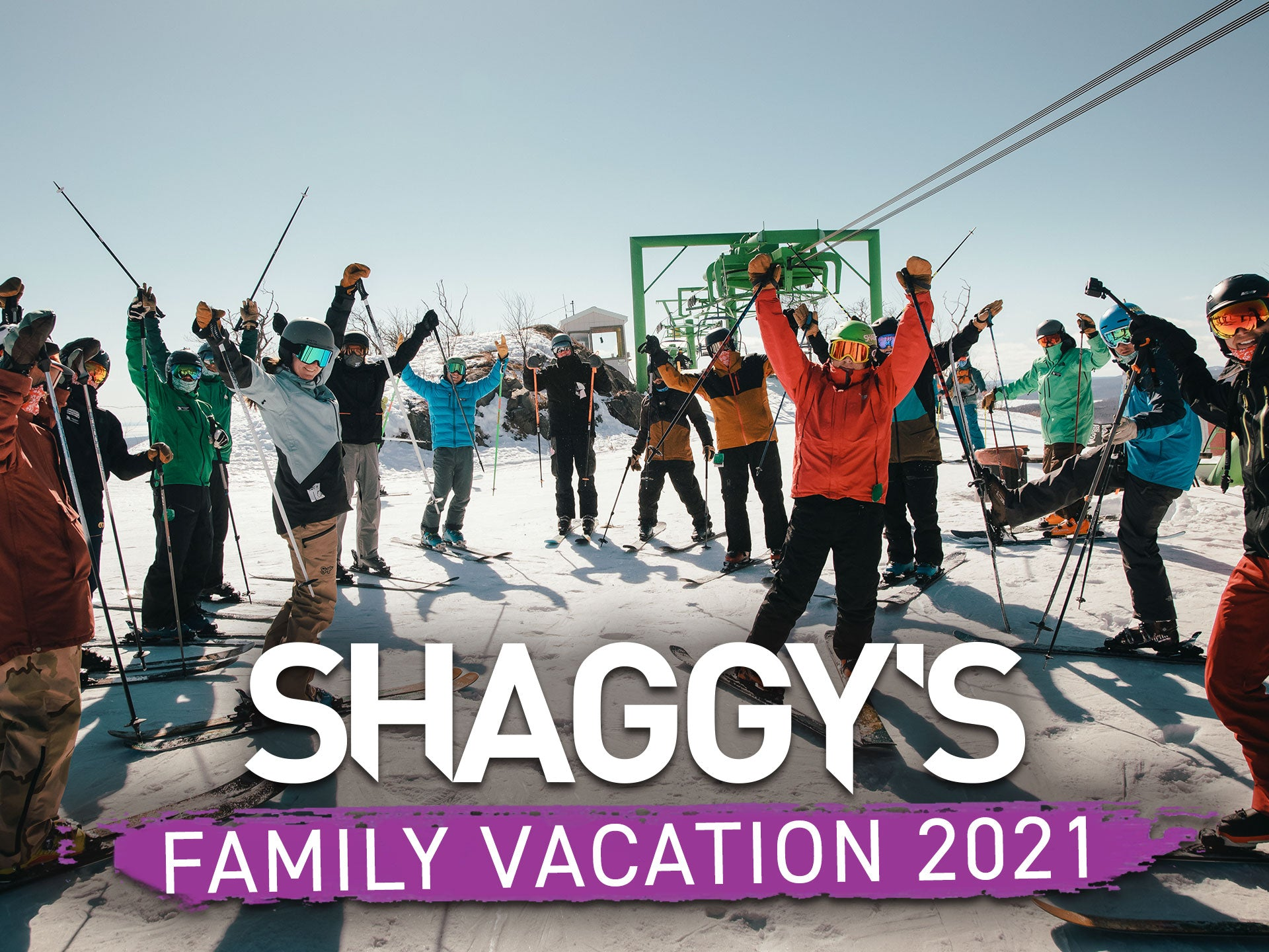 Video: Shaggy's Family Vacation at Mount Bohemia 2021