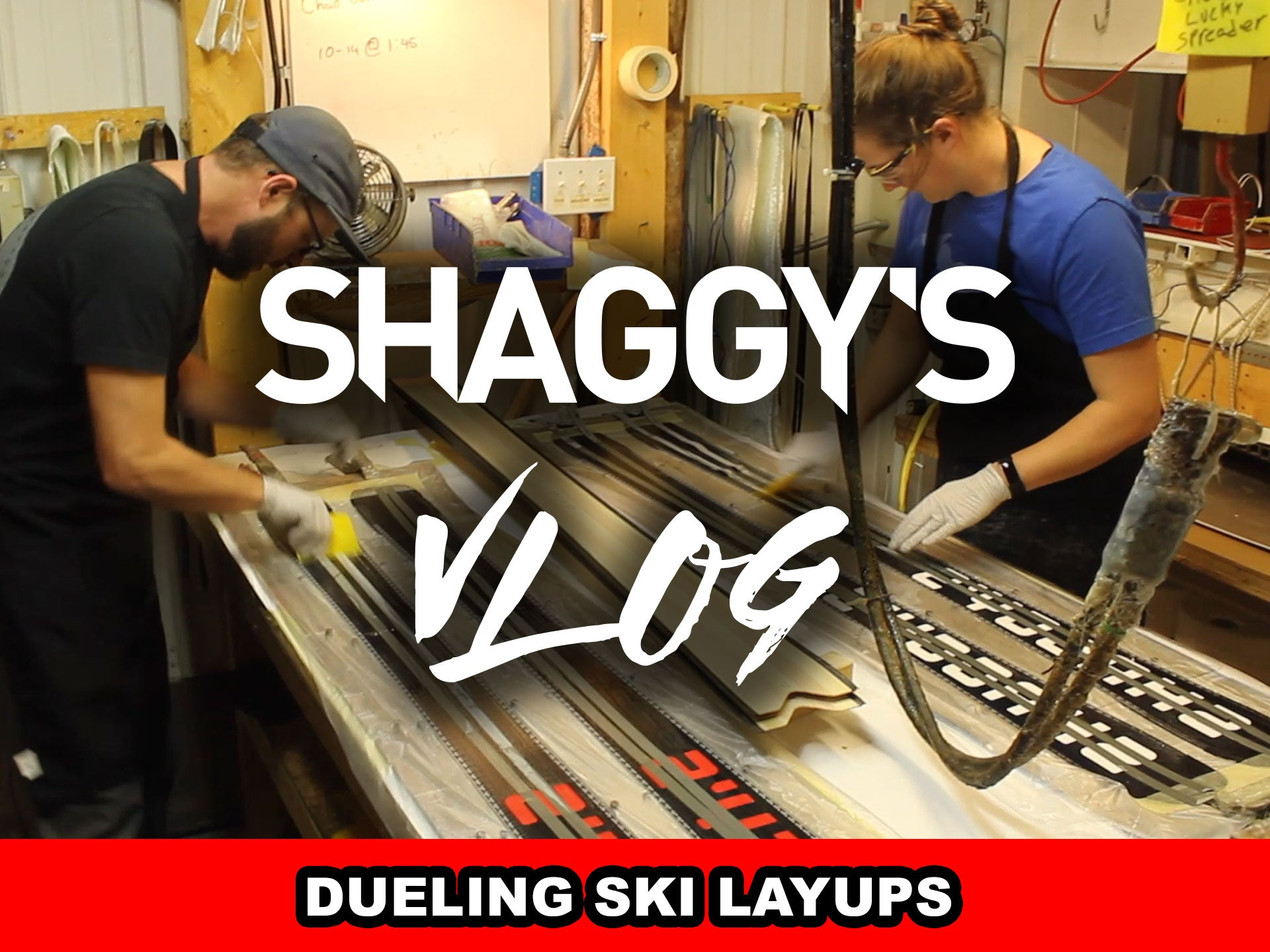 VLOG 008 - A DAY AT THE SKI FACTORY: PART 2