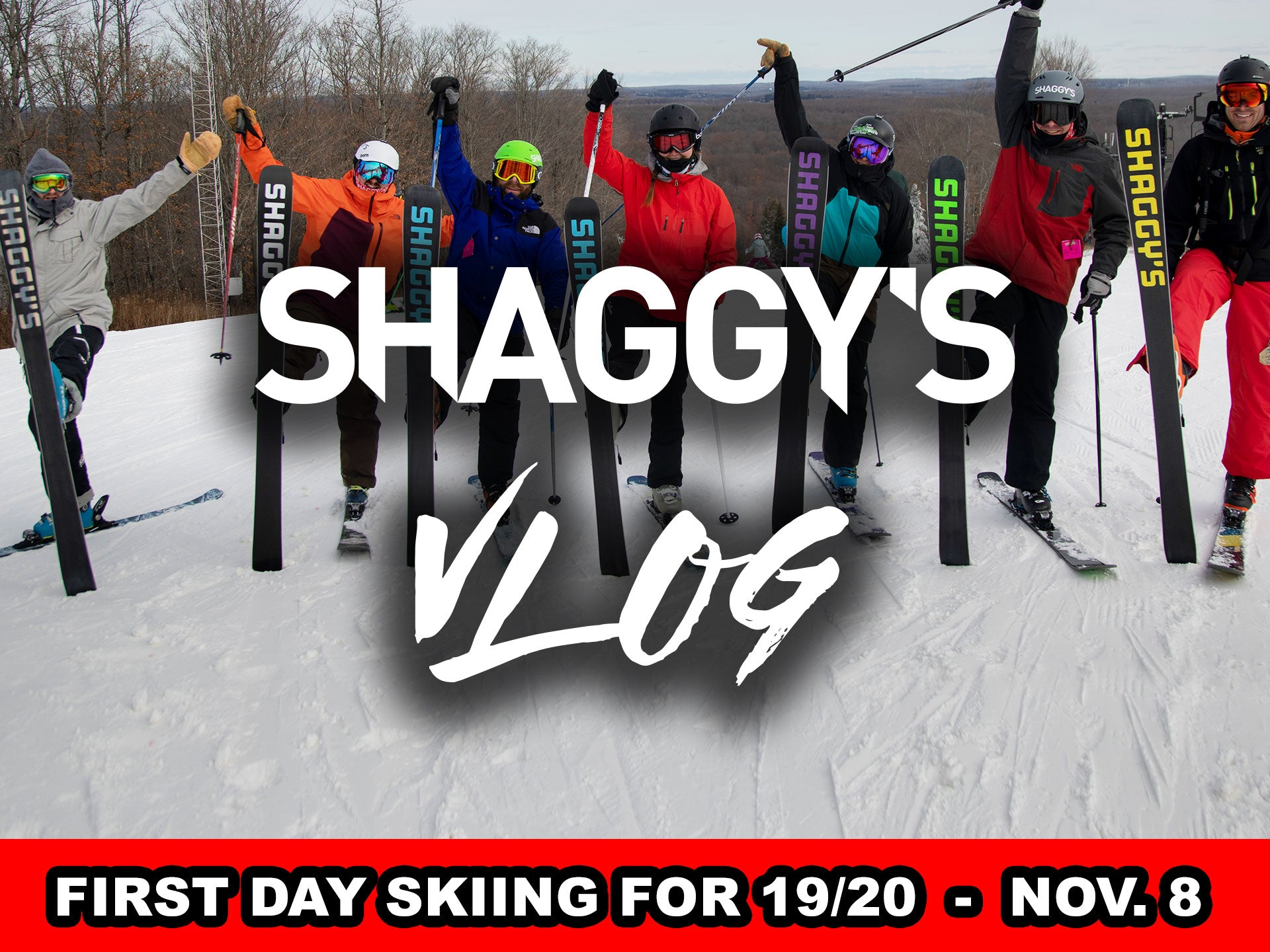 VLOG 009 - FIRST DAY SKIING IN MICHIGAN!