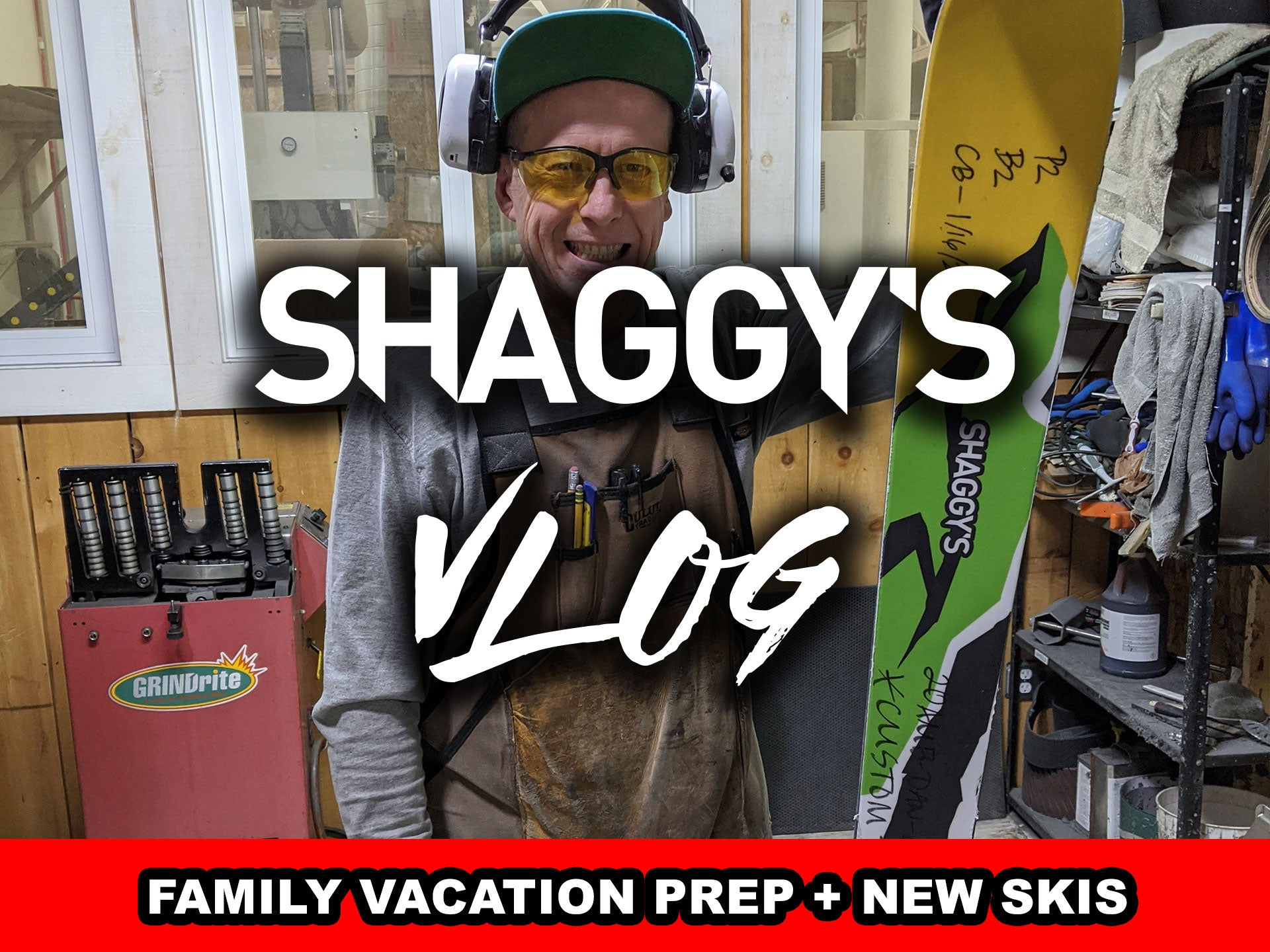 VLOG 014 - Prep for Family Vacation at Mount Bohemia + New Skis