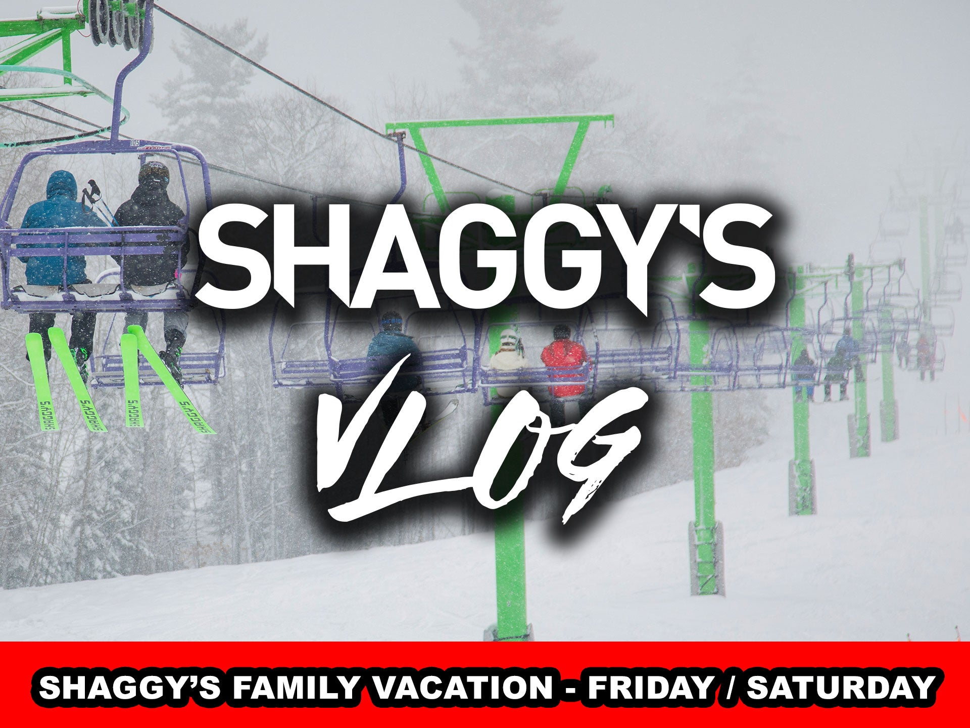 VLOG 015 continued...  Shaggy's Family Vacation (Parts 3-4)