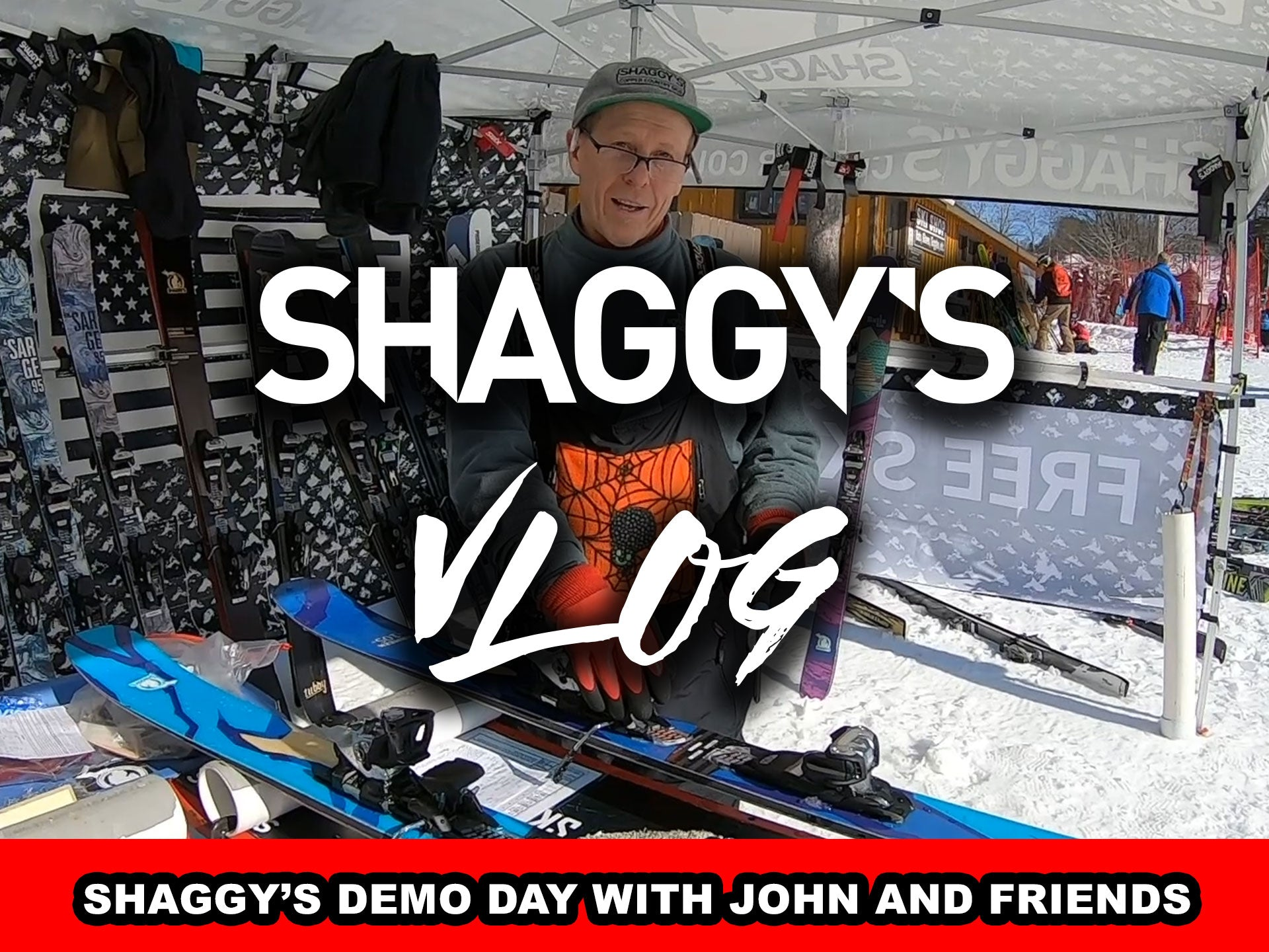 VLOG 016 - Shaggy's Demo Day with John and Friends