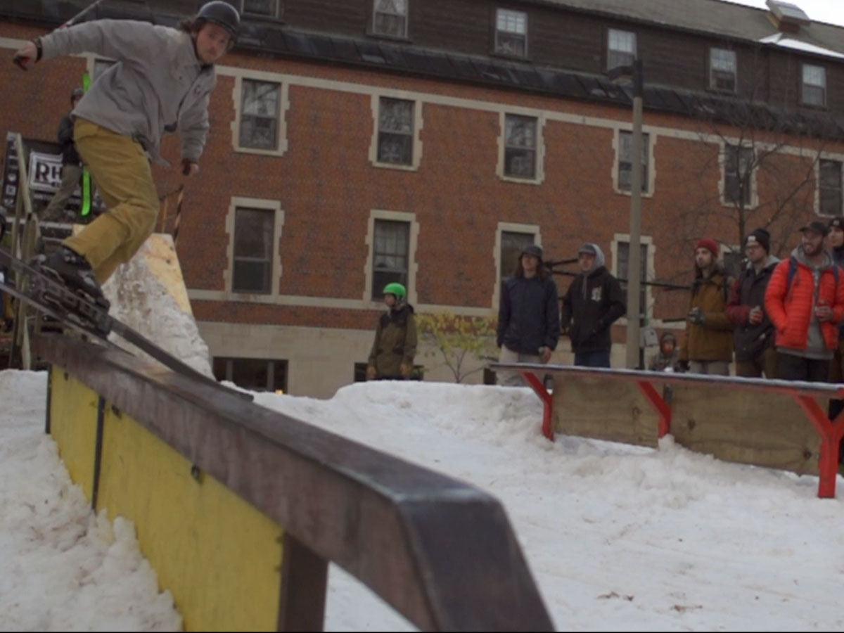 Video Recap - Night of the Living Shred Rail Jam