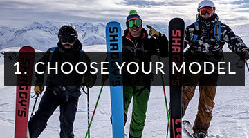 Choose your Ski Model - Custom Skis