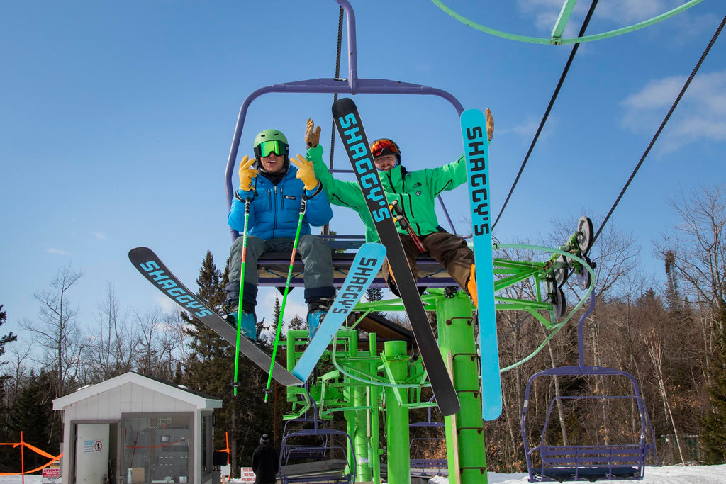 Shaggy's Skis Mount Bohemia Chairlift