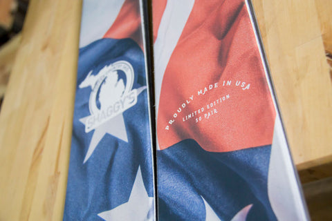 Skis Made in USA - Limited Edition USA Skis