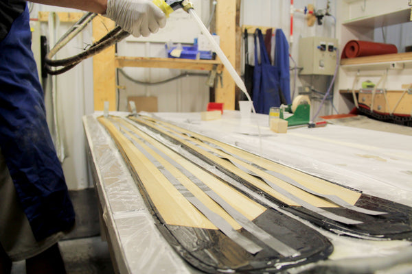 Ahmeek 105 Ski Construction - What makes skis