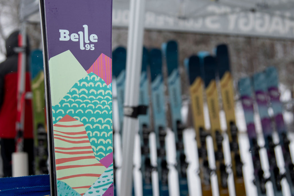 Belle 95 Women's all mountain skis