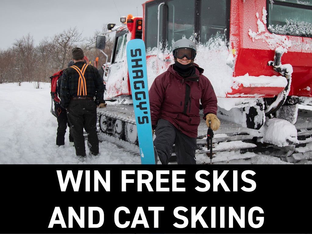 Win Free Skis + Cat Skiing