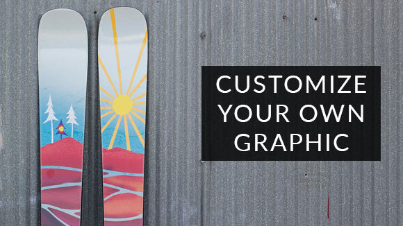 Custom Skis - Your Design, Built by Us