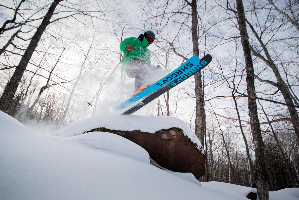 Backcountry skiing in Michigan