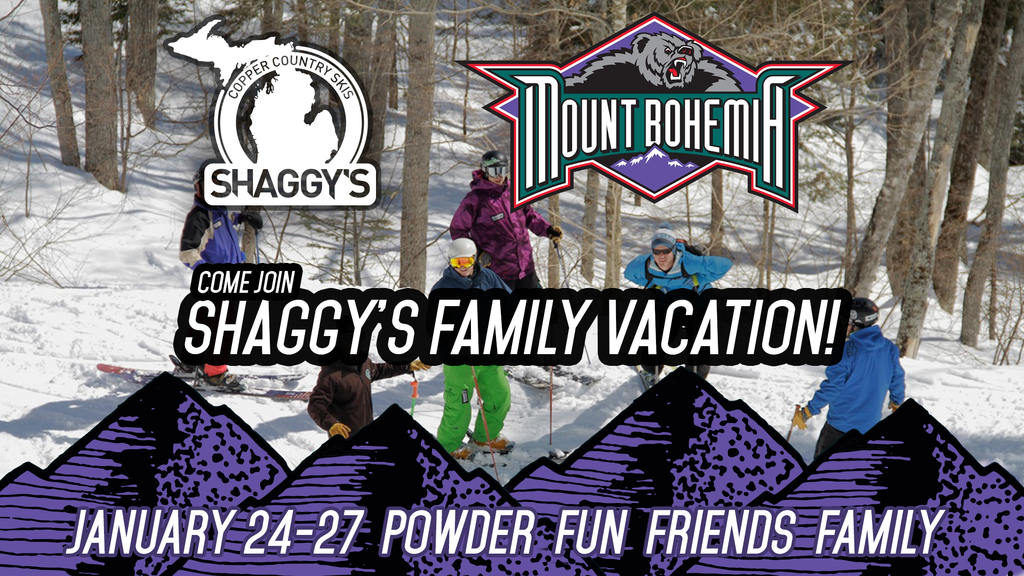 Shaggy's Family Vacation at Mount Bohemia 2019