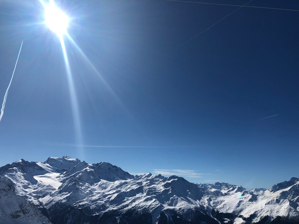 Bluebird Day in Verbier