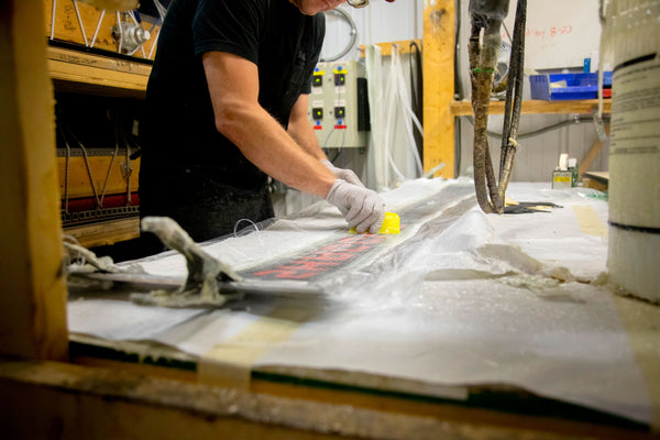 Building Ski Patrol Skis