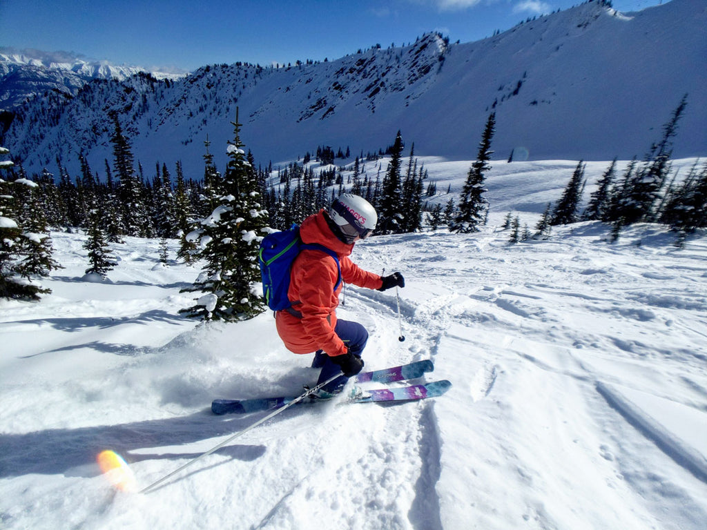 Medora 105 - Women's Powder Skis in British Columbia