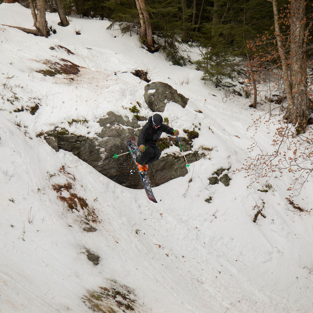 Mad River Glen Cliff Skiing