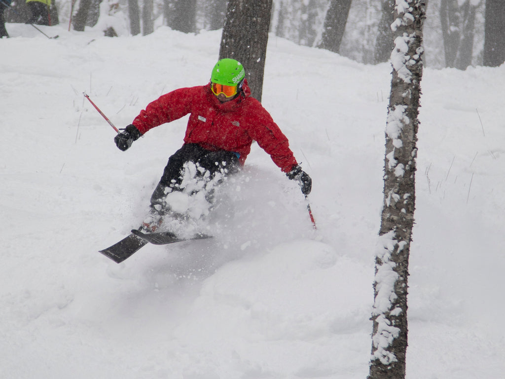 Ryan Kildee Skiing at Mount Bohemia - Michigan Powder Skiing