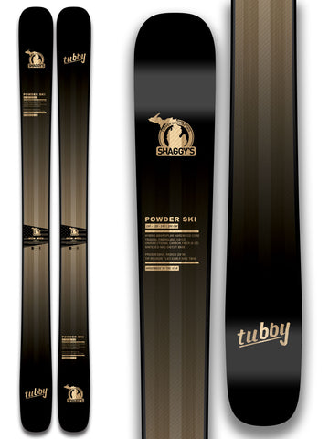 2020 Tubby 120 Skis Made in USA