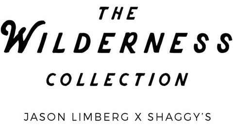 The Wilderness Collection Logo - Hand Drawn Wilderness Skis - Handmade in the USA