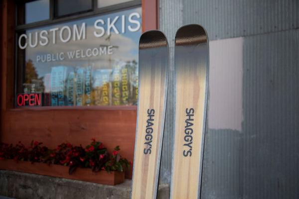 Woodgrain Skis - Wood Skis - Handmade Skis - Best All Mountain Skis