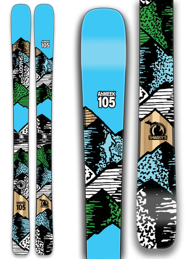 2019 Ahmeek 105 -- All Mountain Skis - Shaggy s Copper Country Skis 0a37c4ea0843