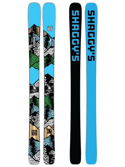 2019 Ahmeek 105 - All Mountain Skis - Made in USA - Quiver Killer