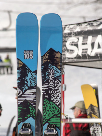 2019 Ahmeek 105 - All Mountain Skis - Made in USA - Best All Mountain Skis