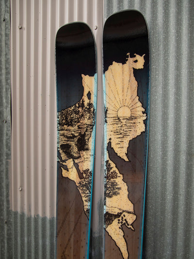 Limited Edition Lake Superior Skis