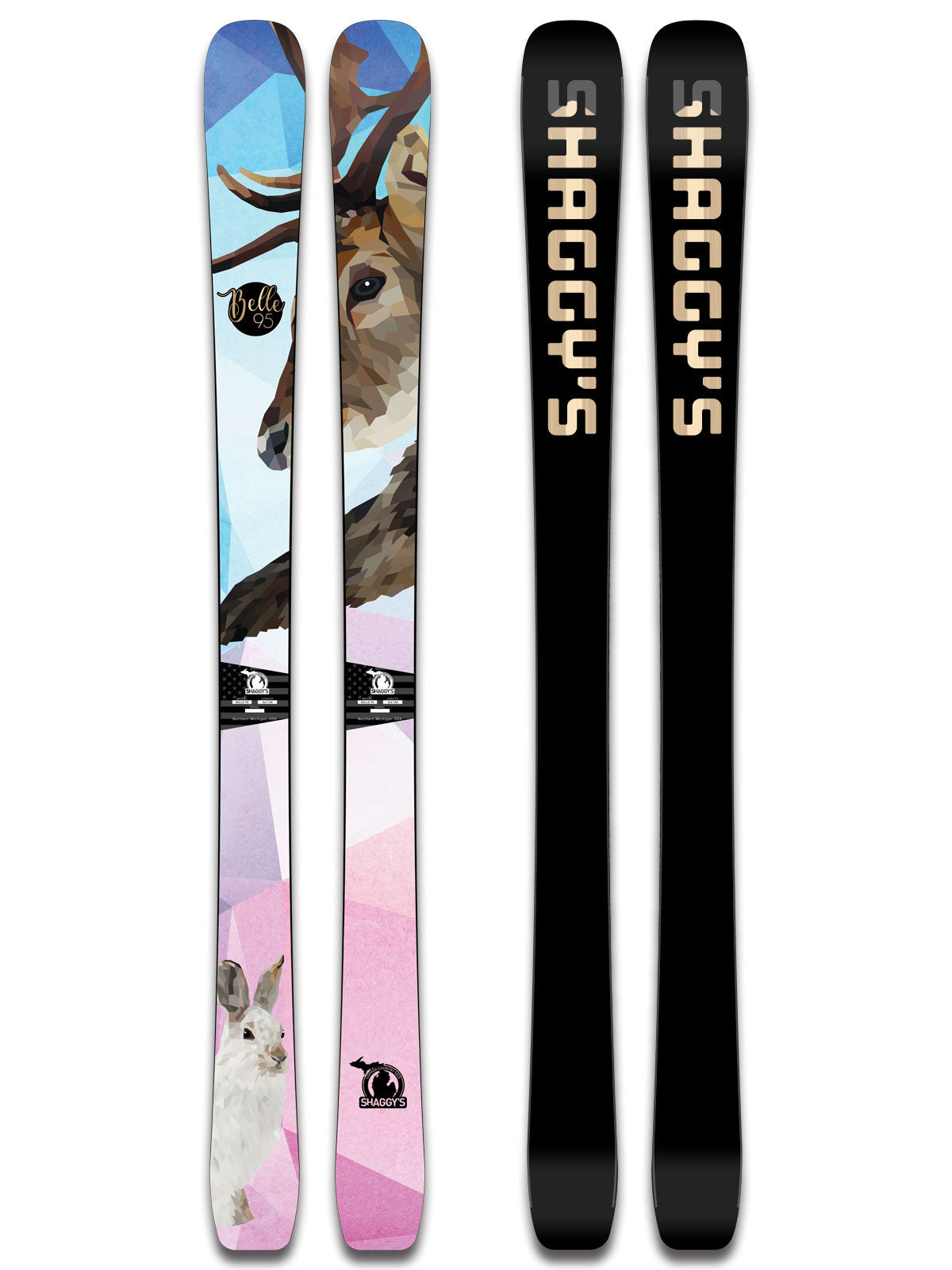 2018 Belle 95 -- Women s All Mountain Skis - Shaggy s Copper Country ... b5dcb5900c3b