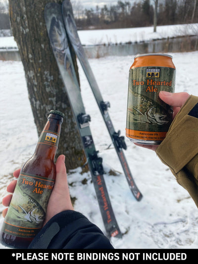 Limited Edition Bell's Brewery Two Hearted Ale Skis