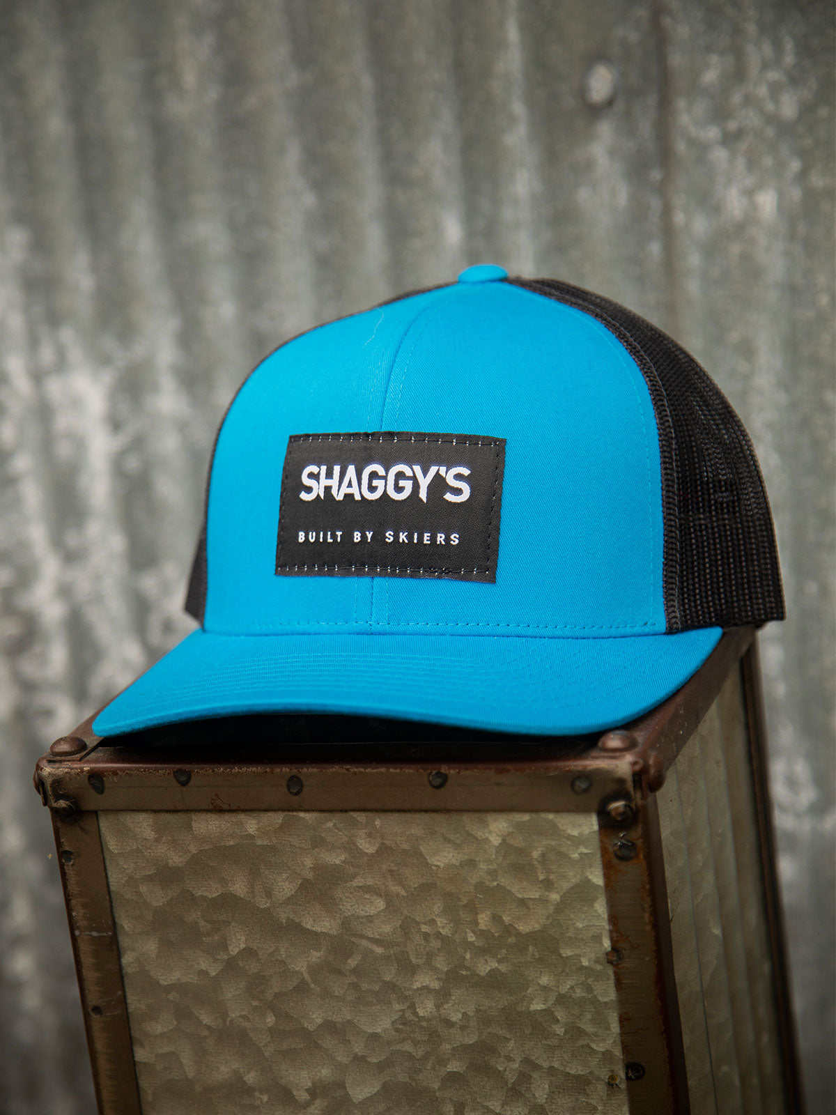 'Built By Skiers' Snapback Hat