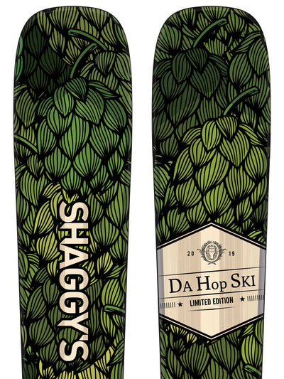 """Da Hop Ski"" Limited Edition Skis - Ahmeek Series"