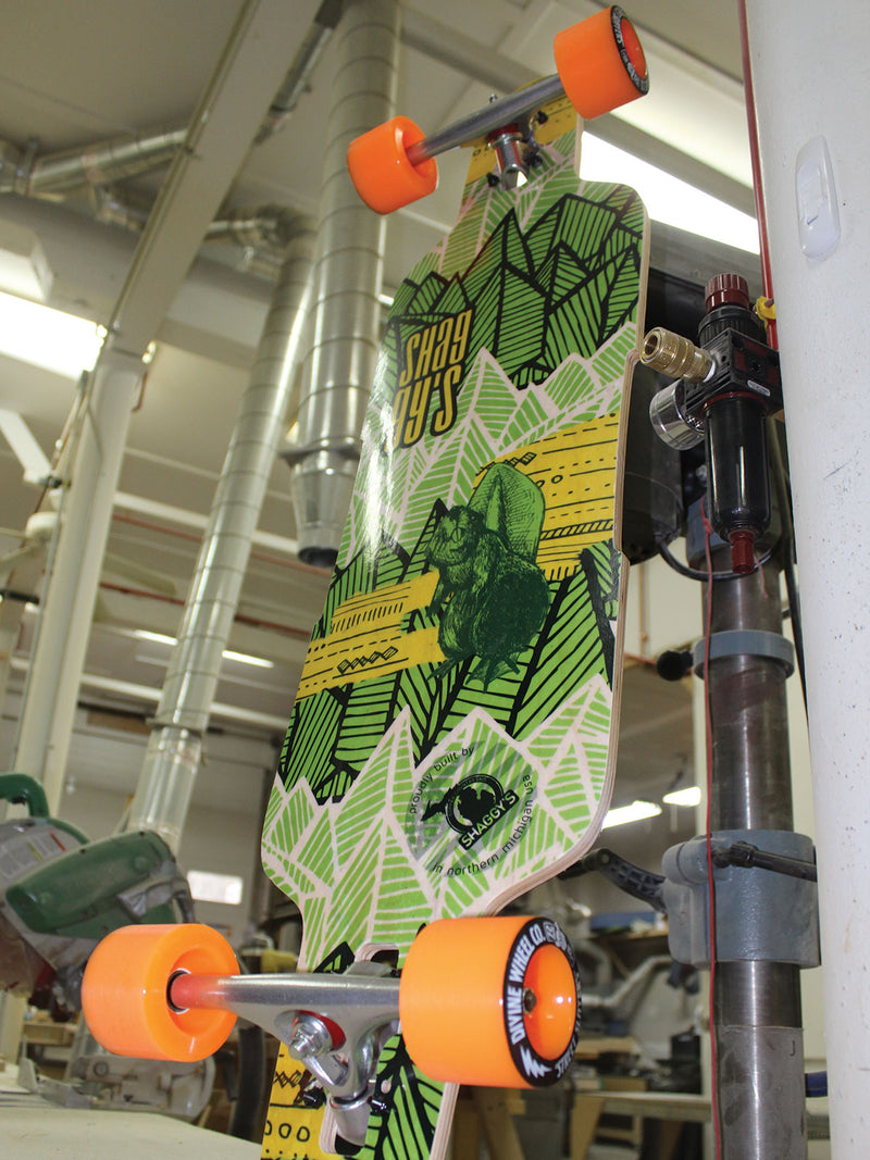 Dropthrough 38″ Longboard