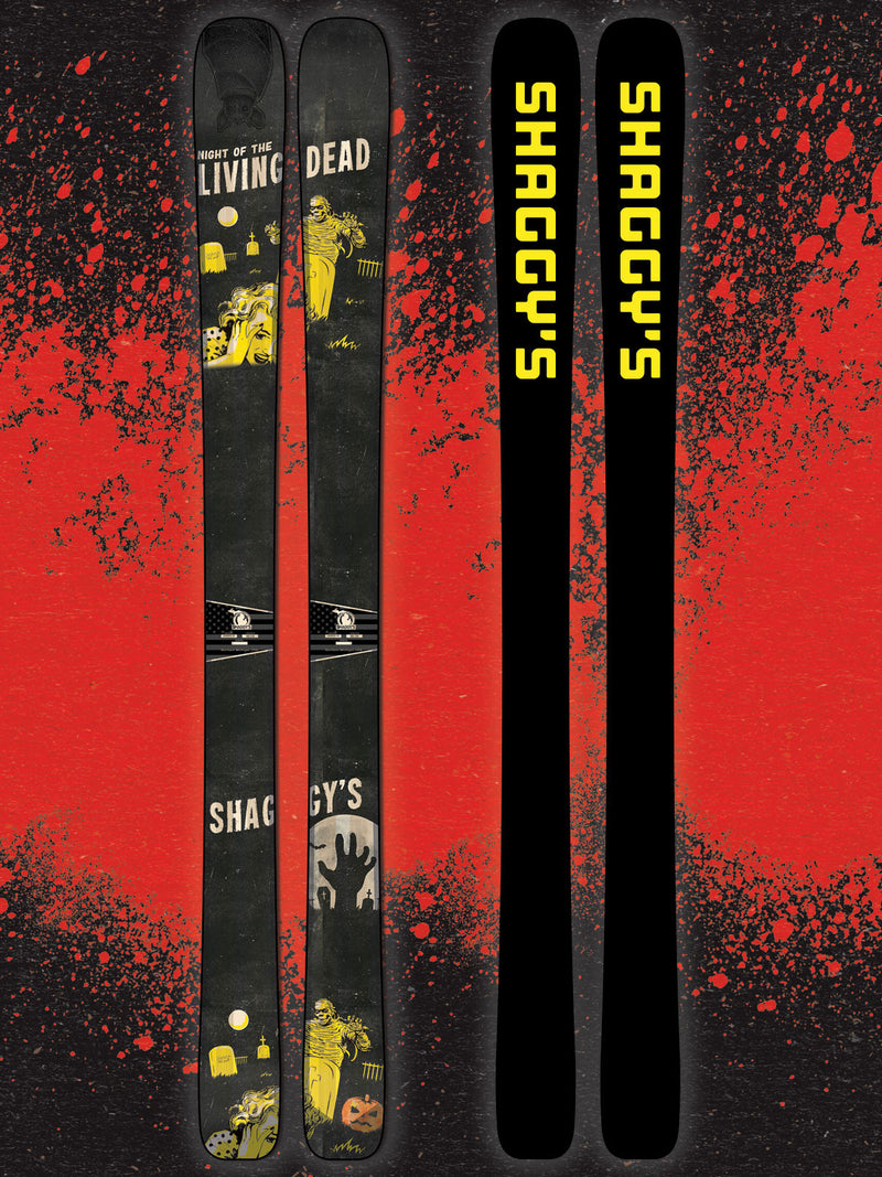 Limited Edition Halloween Graphic Skis - Only 5 Pair!