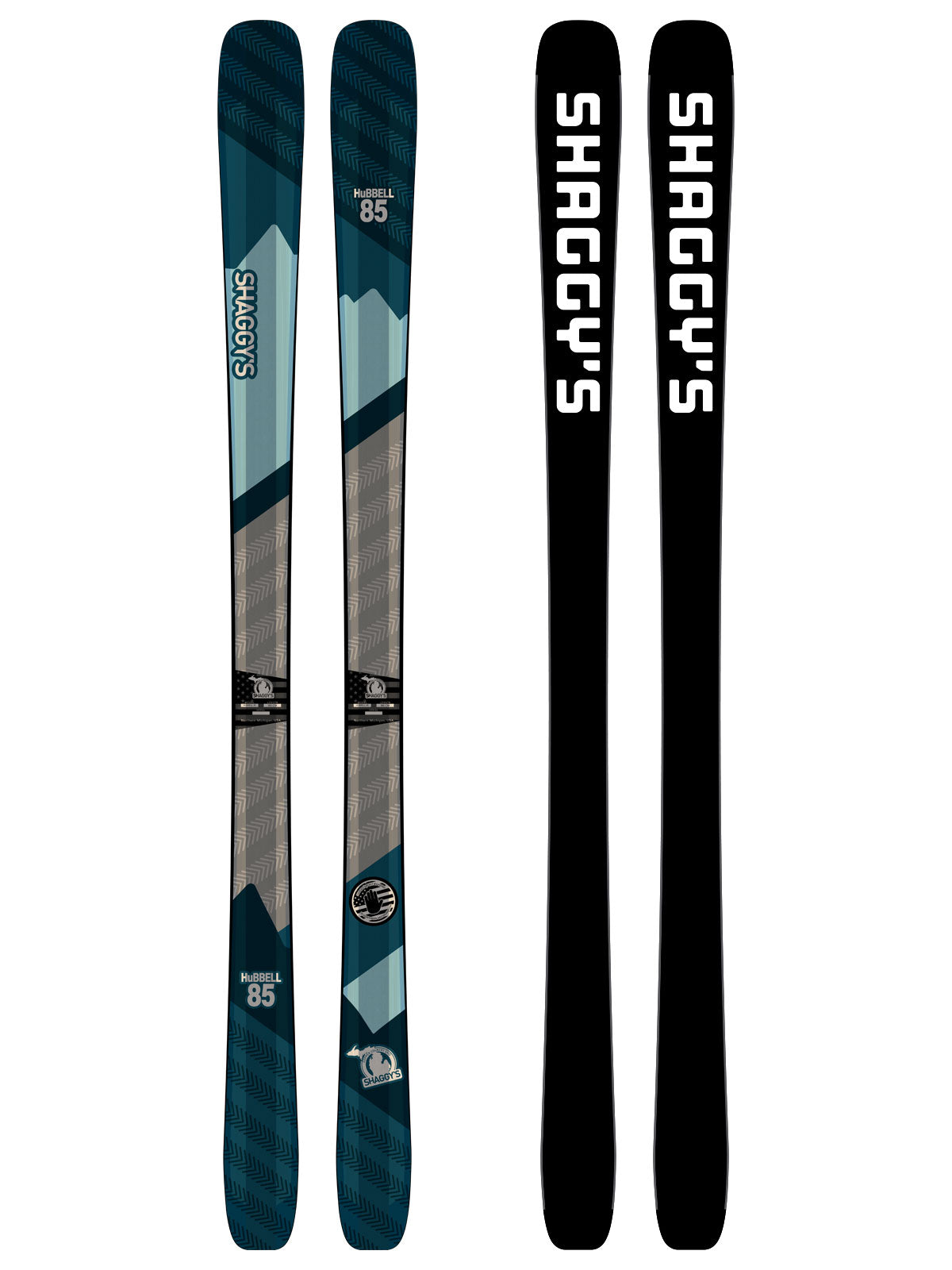 2019 Hubbell 85 -- Frontside All Mountain Skis - Shaggy s Copper ... c6d42c2b5372
