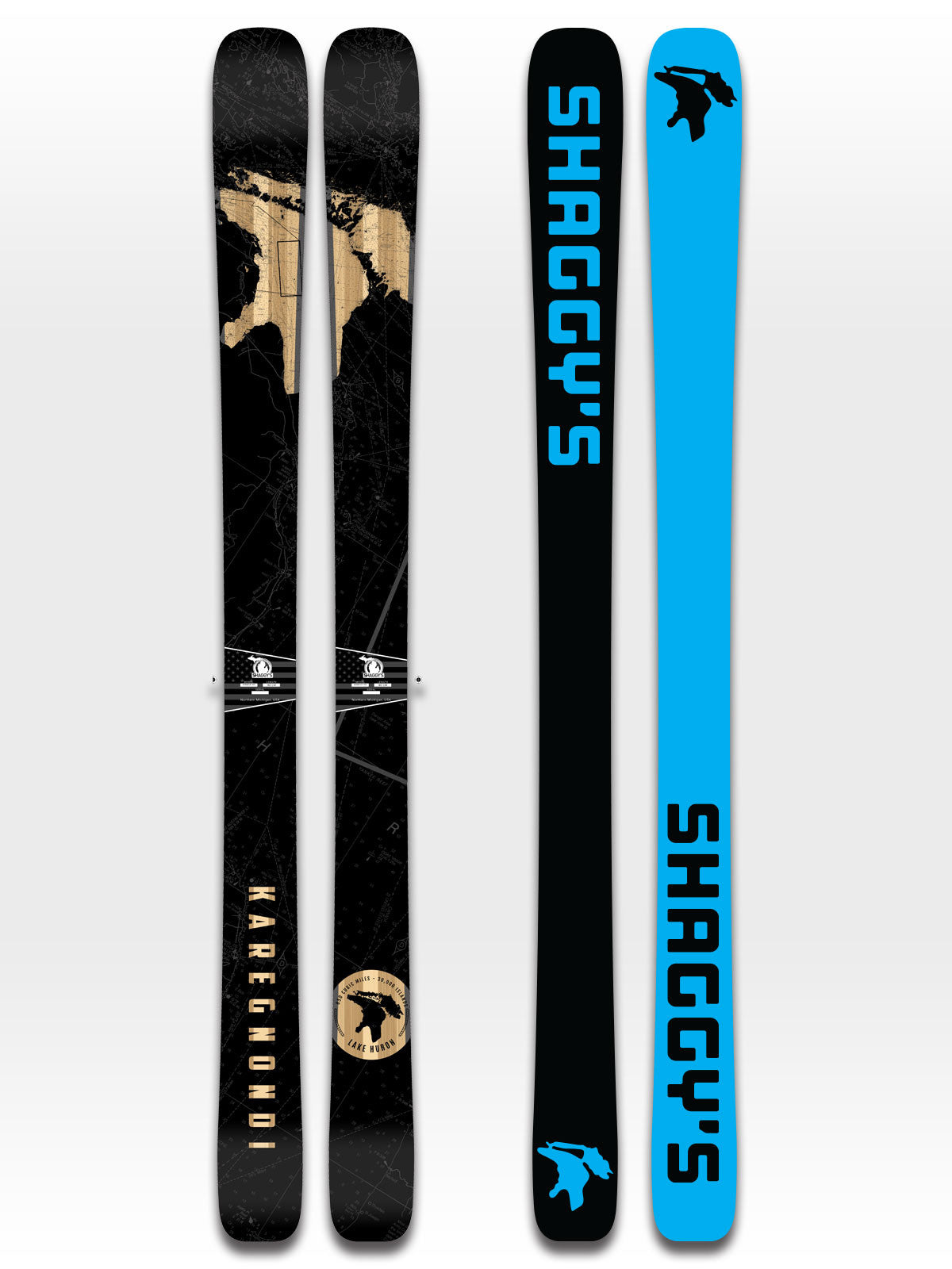 Limited Edition Lake Huron Skis - All Mountain Skis
