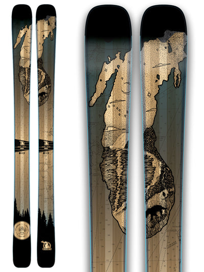 Limited Edition Lake Michigan Skis