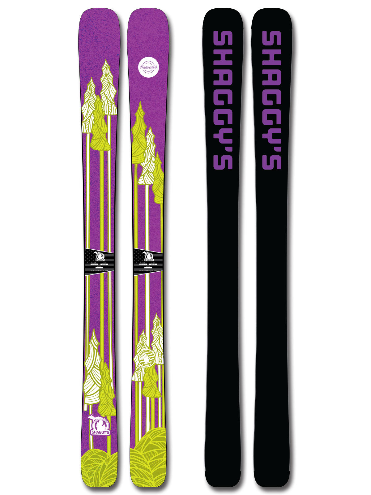 2019 Medora 105 - Women's All Mountain Powder Skis