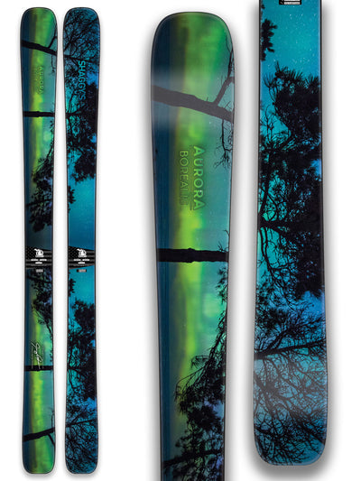 Limited Edition Northern Lights Skis