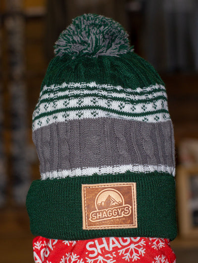 Mountain Patch Knit Beanie