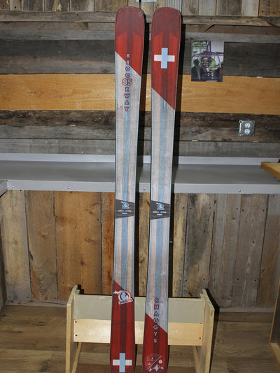 2019  Brockway 174 cm - Ski Patrol Graphic - 1 Pair
