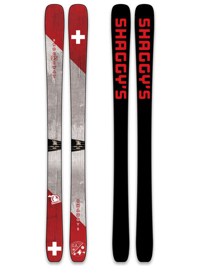 2019 Ski Patrol Limited Edition Skis