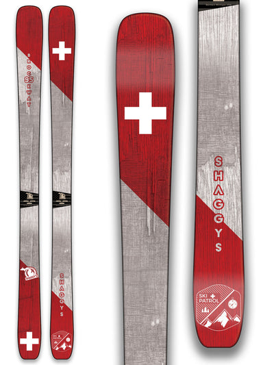 Ski Patrol Skis - Skis for Ski Patrollers