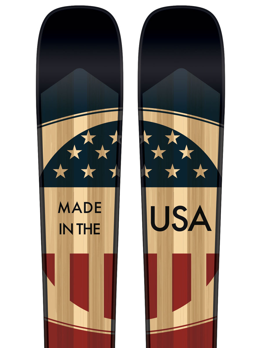 """The Patriot"" Limited Edition Skis"