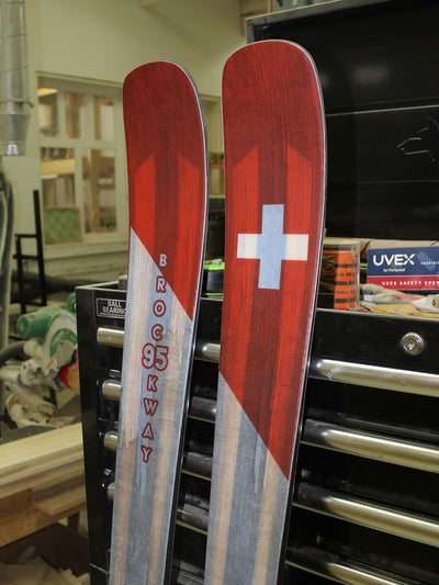 2018 Ski Patrol Limited Edition Skis