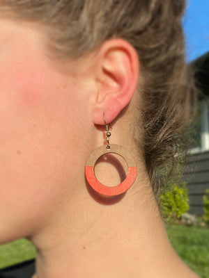 """Another Round"" Earring"