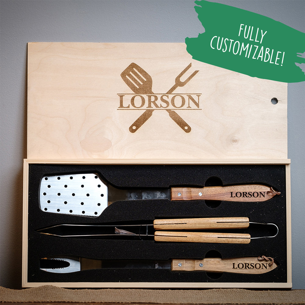 Personalized BBQ Set